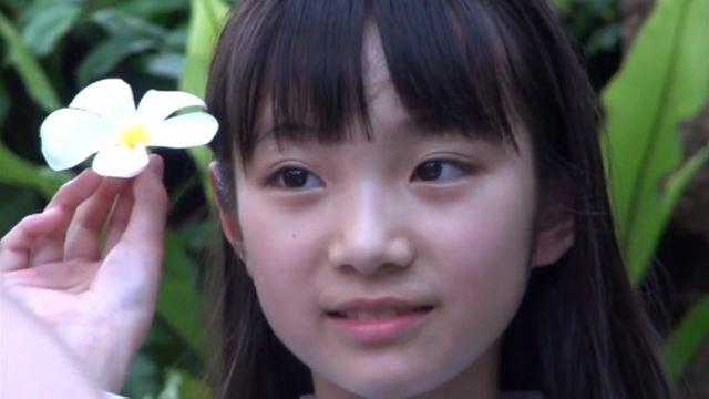 """""""すみれの花物語""""とっておきの未公開秘蔵映像「河合すみれ」制服顔アップ"""