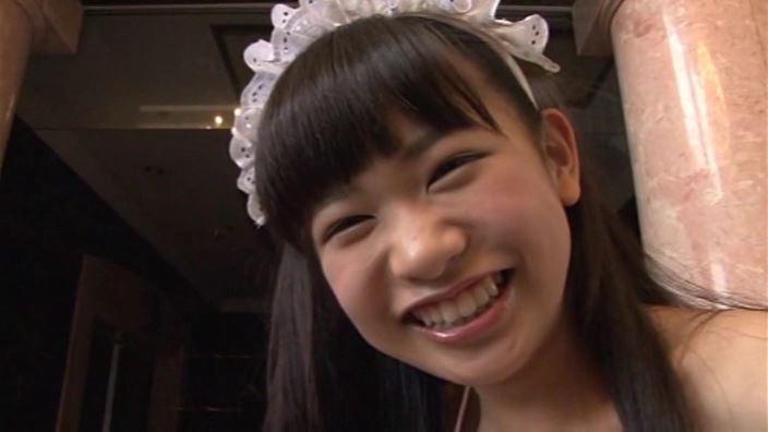 つぶつぶいちご「野村苺花」メイド笑顔