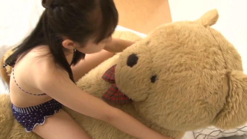 うららんらん♪ 「ゆずき麗」黒水玉ビキニクマさん