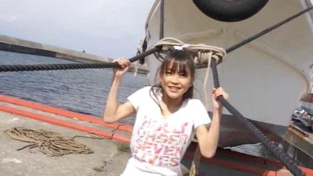 「ホワイトピクチャーズ Vol.4 さわこちゃん」船のロープ