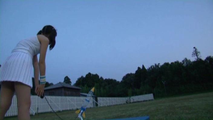 ずっと一緒 「宮田飛鳥」テニスウェアロケット